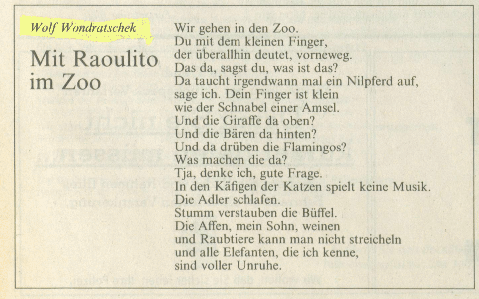 über Das Meyerhuber Wondratschek Archiv Meyerhuber