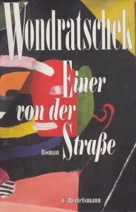 """Cover der Erstausgabe von """"Einer von der Straße"""" 1992"""