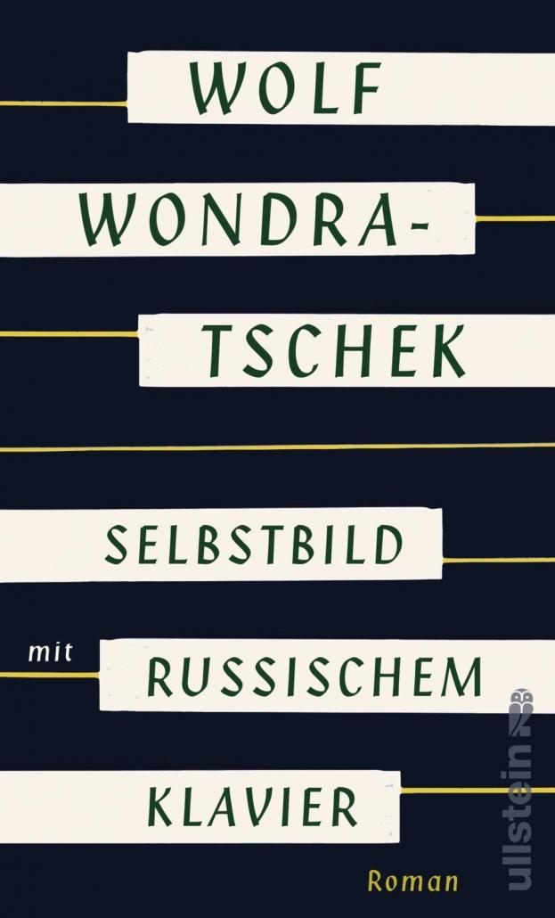 """Cover der Erstausgabe von """"Selbstbild mit russischem Klavier"""" 2018"""